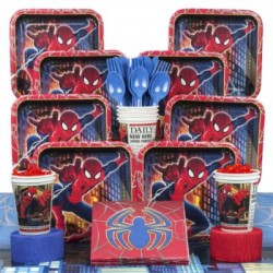 Spiderman Deluxe Kit (Serves 8)