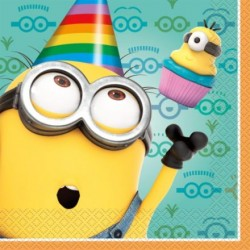 Minions Despicable Me Lunch Napkins (16 Count)