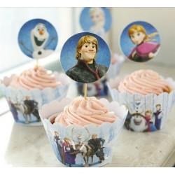 Disney Frozen Party Cupcake Set