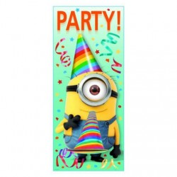 Minions Despicable Me Door Poster Decoration (Each)
